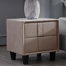 Bedside Table Nightstand Fabric Bedside Table