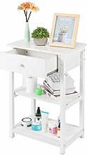 Bedside Table Wooden Side Table Shabby Chic