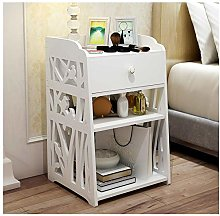 Bedside Tables Cabinet 1 Drawer Night Stand