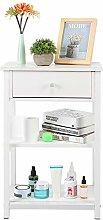 Bedside Tables,Multifunction Floor Cabinet Storage