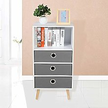 Bedside Tables,Wooden Bookcase Small Floor
