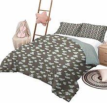 Bedspread Coverlet Set Flower Luxe Bedding 3 Piece