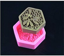 Bee Honeycomb Shape Silicone Fondant Soap