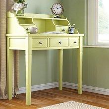 Beecher Desk Three Posts Colour: Avocado Green