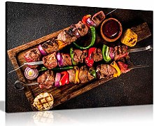 Beef Shish Kebab Grill Turkish Restaurant Kabob