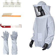 Beekeeping 5-piece set (M size bee proof clothes,