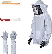 Beekeeping Suit Bee Jacket Beekeeping Gloves
