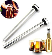 Beer Chiller Stick for Bottles, 2 PCS 304