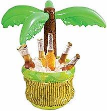 Beer Drinks Ice Bucket, Inflatable Palm Tree