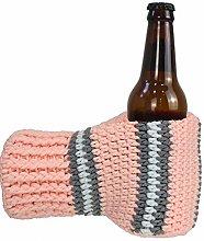 Beer Mitten Gloves, Knit Stitched Drink Mitt