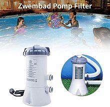 Beesuya Cartridge Filter Pump Electric Swimming