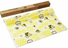 Beeswax Food Wraps, Wax Wraps Roll Reusable Sealed