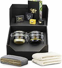 Beeswax Furniture Polishing Kit (2 Jars) (Light &