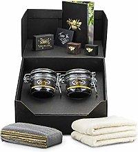 Beeswax Furniture Polishing Kit (2 Jars) (Medium &