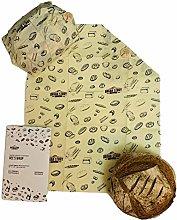 Beeswax wrap - 1 Large single pack organic