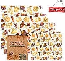 Beeswax Wrap OYUNKEY Beeswax Wrap Set of 4, 2XL
