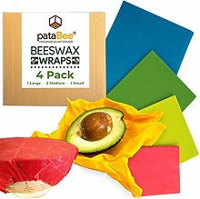 Beeswax Wrap Reusable Food Wrap - Handmade in