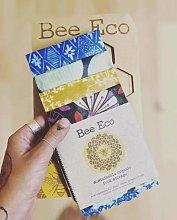 Beeswax Wraps Set of 4 - Organic Cotton Reusable