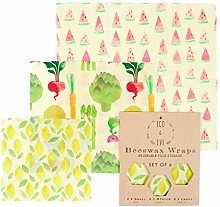 Beeswax Wraps (Small, Medium, Large) | 6 Pack |