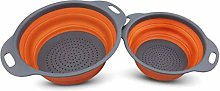 BeGrit Silicone Foldable Colander Collapsible