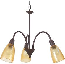 Behrendt 3-Light Shaded Chandelier Marlow Home Co.