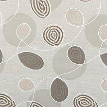 Beige & Brown Floral Swirl PVC Wipe Clean