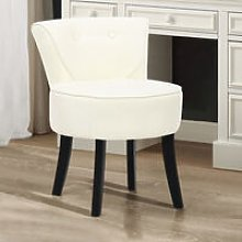 Beige Dressing Table Chair Stool Line Grey Chair