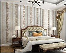 Beige Gray B Non-Woven Wallpaper 0.53x9.5 m Modern