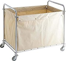 Beige Laundry Basket, Commercial Cleaning Service