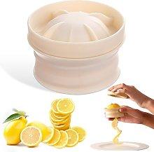 Beige Lemon slicer Multi-functional Spiral Lemon