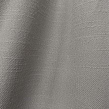 Beige Linen Look Fire Retardant Upholstery Fabric