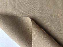 Beige Plain DRALON Outdoor Fabric Solid Acrylic