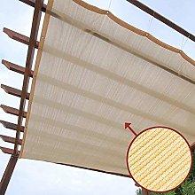 Beige Sun Shade Sail Dog Tent Shade For Pergola