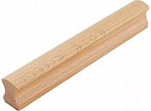 Beige Wooden Pull Handles Kitchen Cabinet Handle