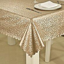 BEIGOO Plenty thick Water resistant tablecloth