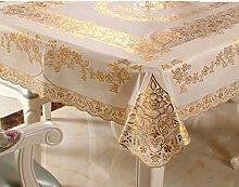 BEIGOO Pvc Plastic tablecloths,Macrame lace