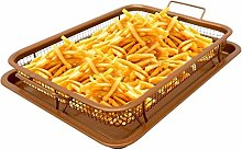 Being Spring Copper Baking Sheet Air Fryer Deluxe
