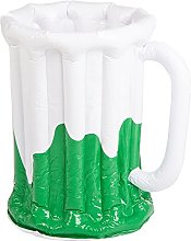 Beistle 30017 Inflatable Beer Mug Cooler, Plastic,