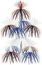 Beistle Firework Chandelier, Red/White/Blue