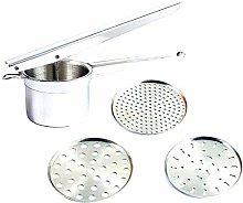 Beito 1 Set Potato Ricer Stainless Steel With 3