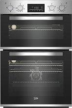 Beko BBADF22300X Built In Double Electric Oven - S