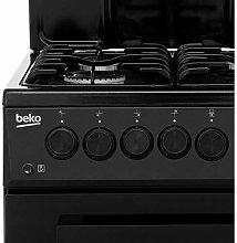 Beko KA52NEK 50cm Single Oven Gas Cooker With Eye