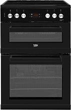 Beko KDC653K 60cm Double Oven Electric Cooker -