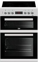 Beko Kdc653W 60Cm Double Oven Electric Cooker,
