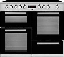 Beko KDVC100X 100cm Electric Range Cooker -
