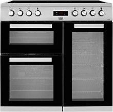 Beko KDVC90X 90cm Electric Range Cooker -