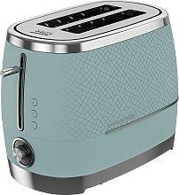 Beko TAM8202T Cosmopolis 2 Slice Toaster- Teal &