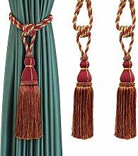 BEL AVENIR Curtain Tiebacks Hand Craft Elegant