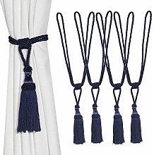 BEL AVENIR Curtain Tiebacks Hand-Woven Rope Ties