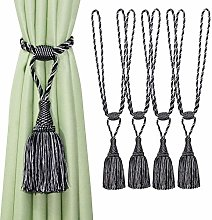 BEL AVENIR Curtain Tiebacks Handmade Elegant